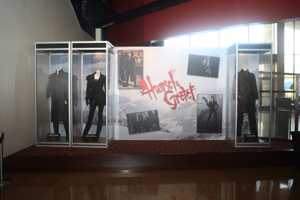 At the ArcLight Pasadena, featuring costumes of the characters Hansel, Gretel & Ben.