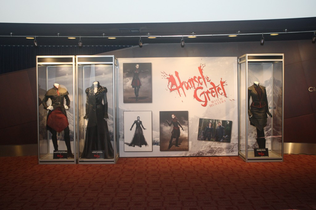 At the ArcLight Sherman Oaks, featuring costumes worn by Red Witch, Muriel & Horned Witch.