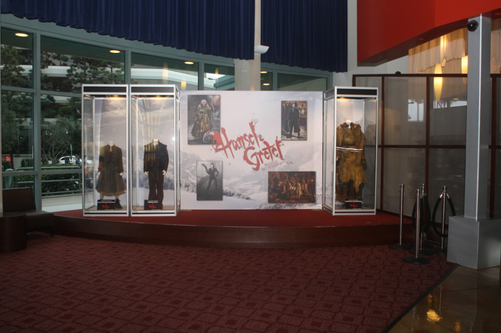 At the ArcLight Beach Cities, featuring costumes of young Hansel, young Gretel & Candy Witch.