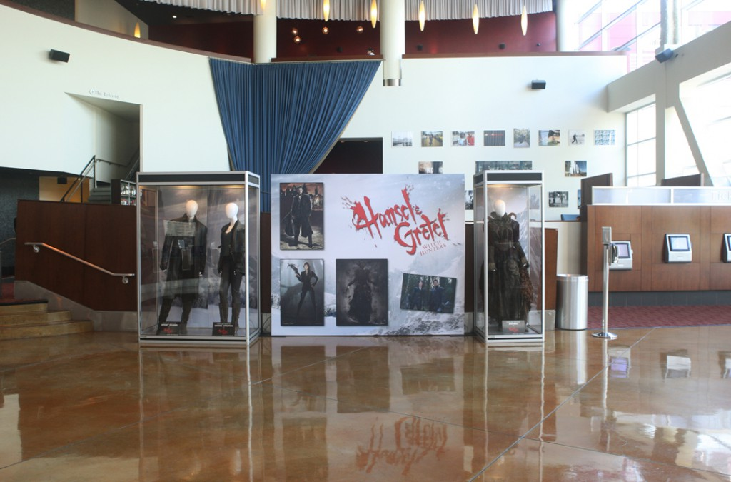 HANSEL AND GRETEL at the ArcLight Hollywood, featuring costumes of Hansel, Gretel & Tall Witch.