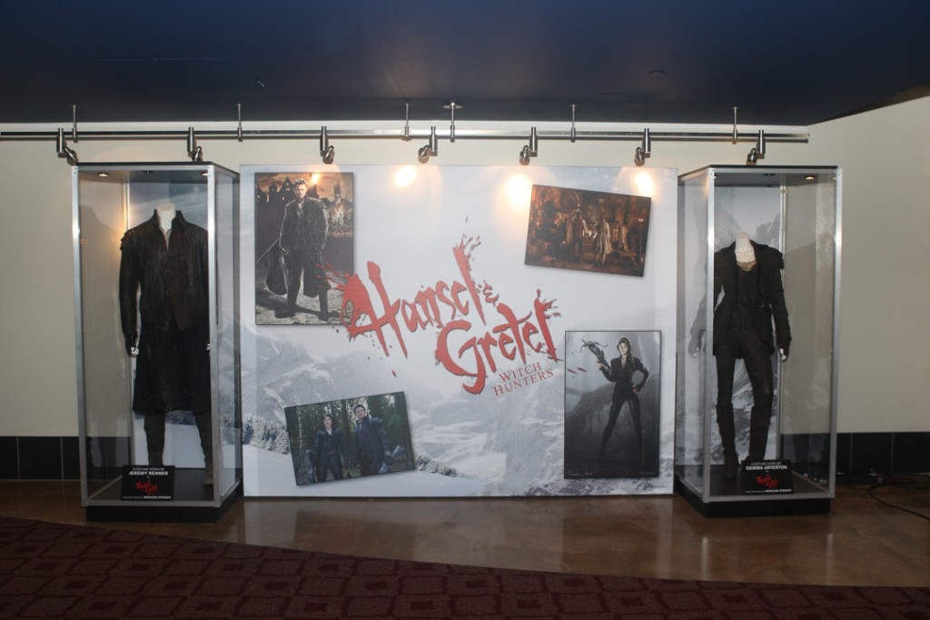 At the ArcLight La Jolla, featuring costumes of Hansel and Gretel.
