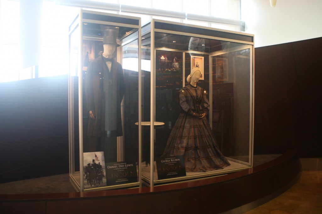 LINCOLN at the ArcLight Sherman Oaks featuring costumes worn by Daniel Day-Lewis & Gloria Reuben.