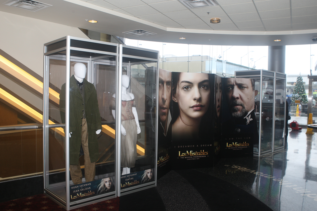 LES MISERABLES - Nominated for Best Costume exhibit at AMC Century City 15