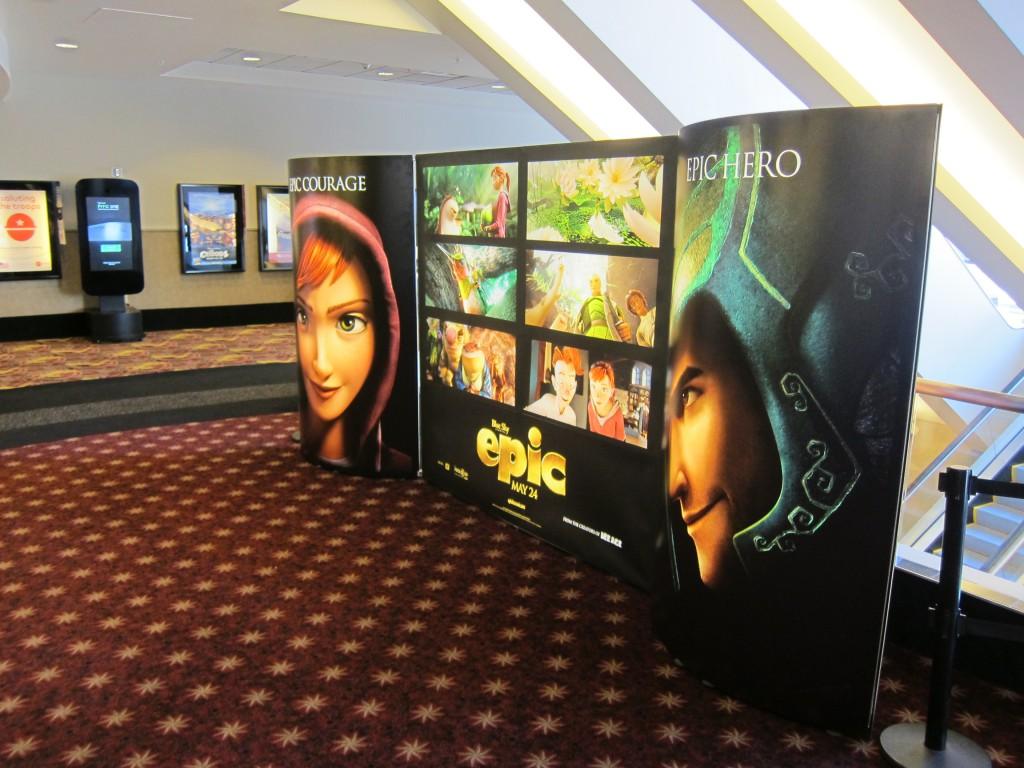 EPIC display at the AMC Century City 15 Theatre.