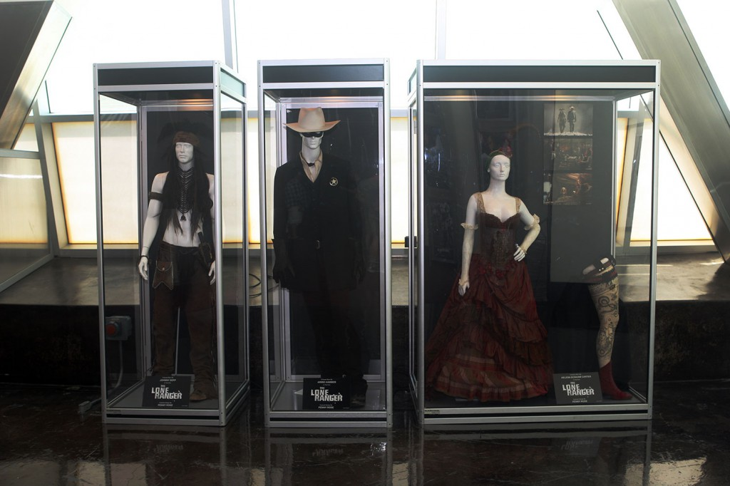 THE LONE RANGER exhibit at the ArcLight Hollywood.