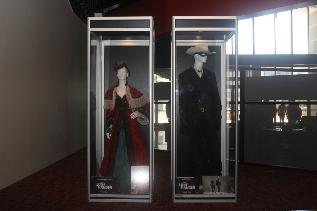 THE LONE RANGER  costume exhibit at the ArcLight Hollywood.
