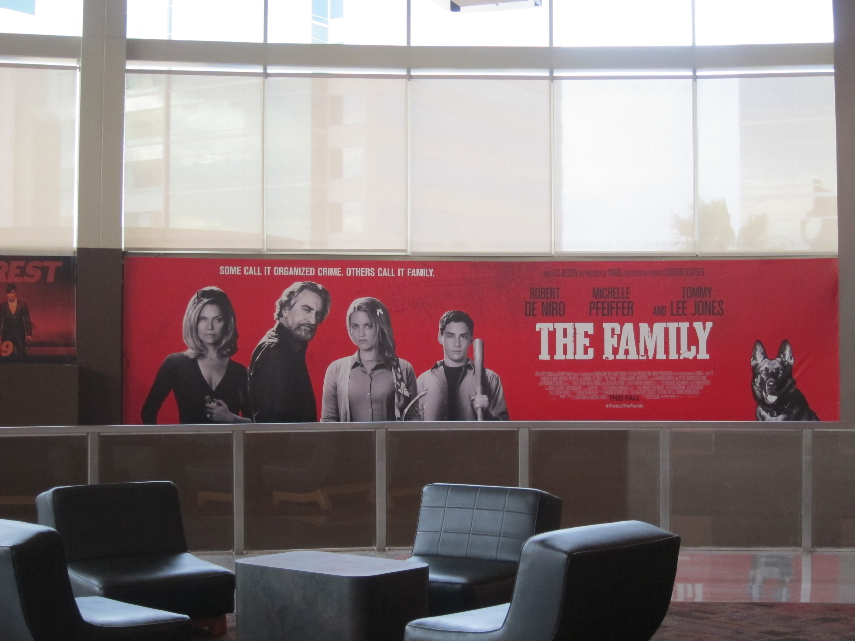 THE FAMILY at the Rave Theatre in Southern California.