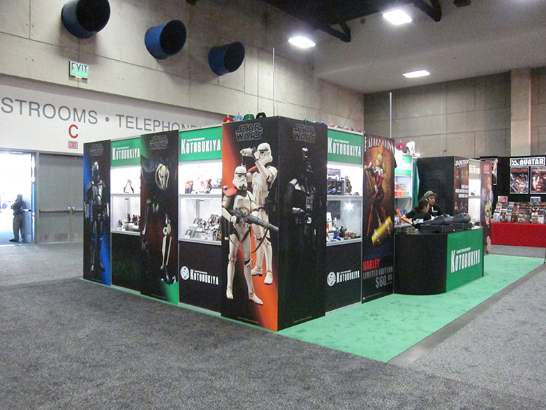 Another angle of the T3 booth.