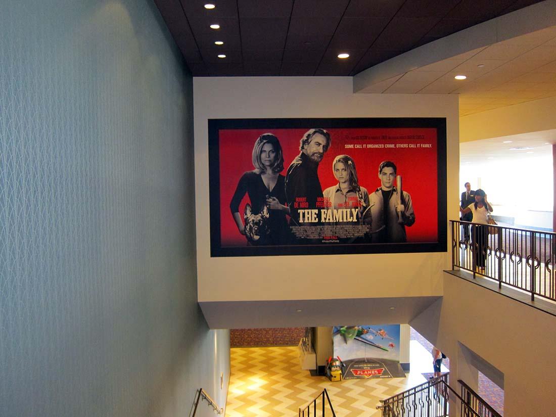 THE FAMILY at the LA Live Theatre in Southern California.