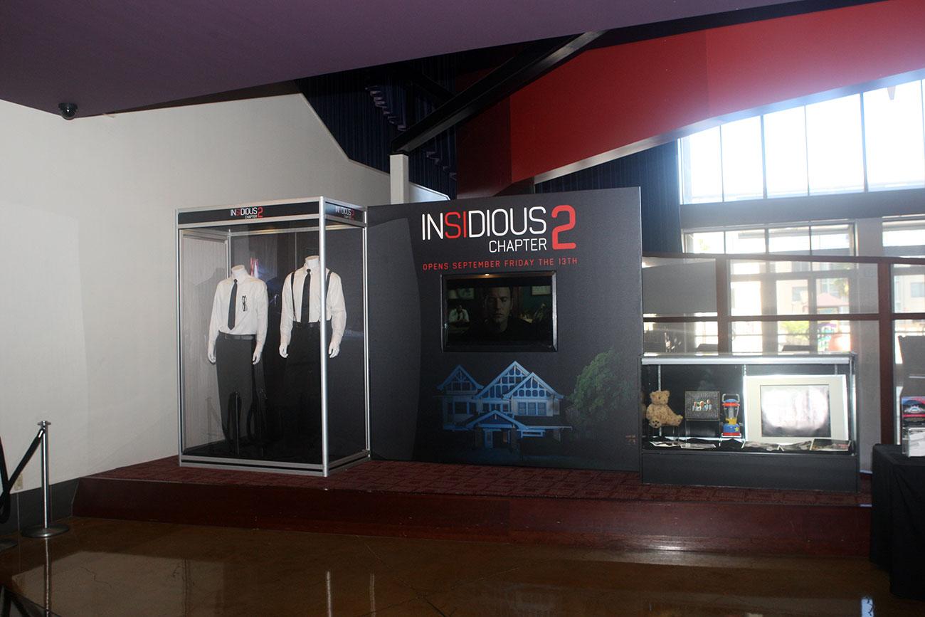 INSIDIOUS: CHAPTER 2 costume & prop exhibit at the ArcLight Pasadena