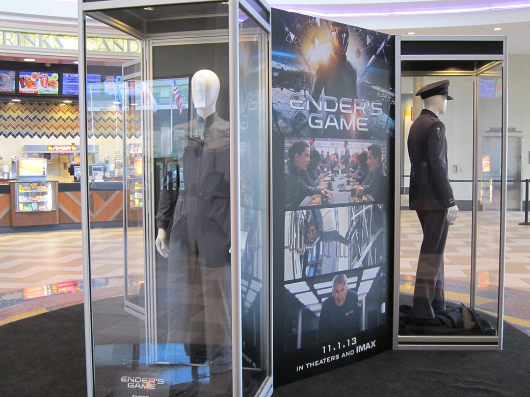 ENDER'S GAME at the Regal LA Live Theatre in Los Angeles.