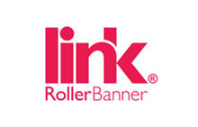 World's first linking roller banner system, it's new. Click here.