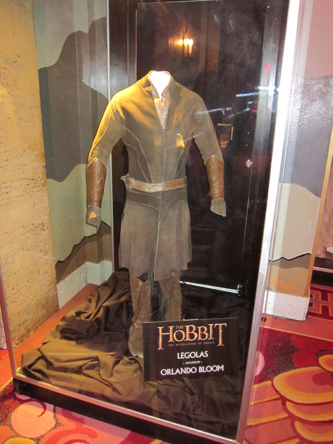 A costume worn by Orlando Bloom in THE HOBBIT: THE DESOLATION OF SMAUG.
