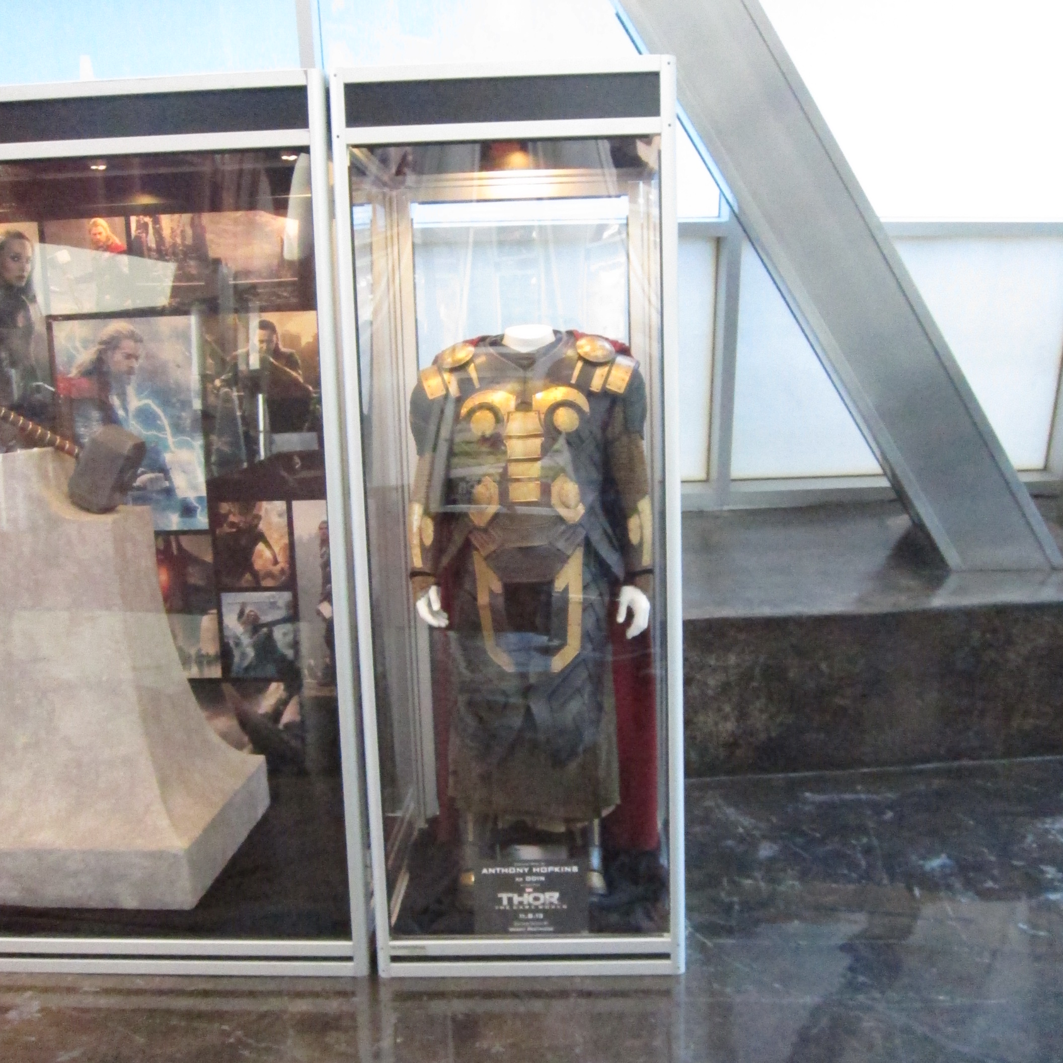 Anthony Hopkins' costume as worn in THOR:  THE DARK WORLD.