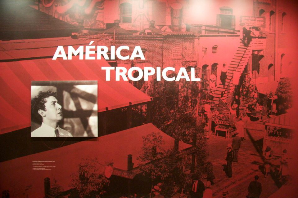 Mexican muralism meets modernism at am rica tropical for America tropical mural