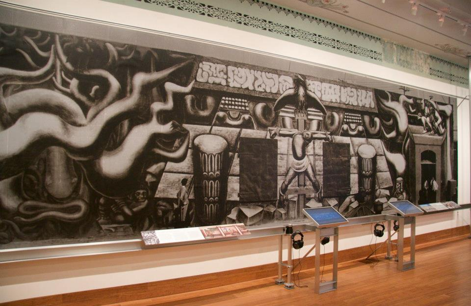 Mexican muralism meets modernism at am rica tropical for American tropical mural