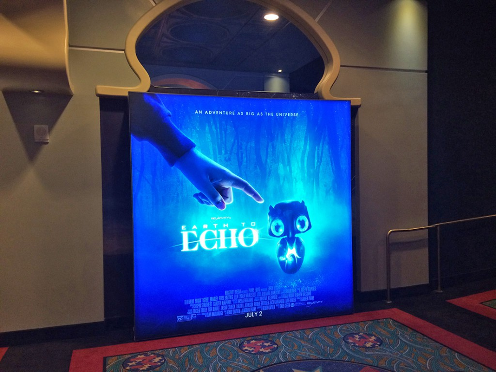 Entertainment Earth to Echo Backlit T3 Display