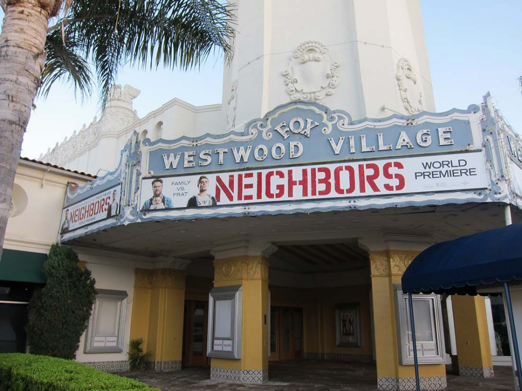 The Village Westwood, Neighbors, Marquee