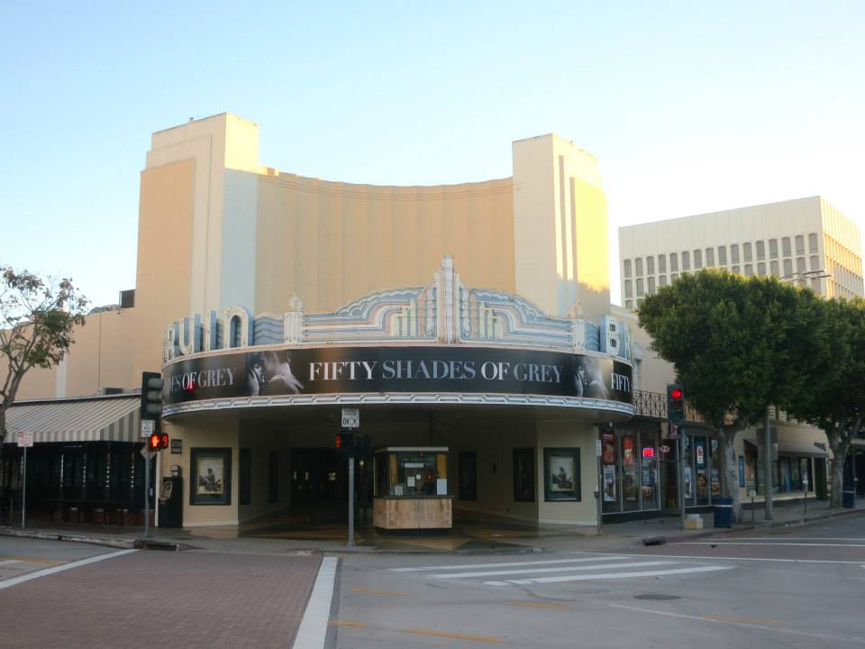 Bruin Theatre Westwood, Marquee