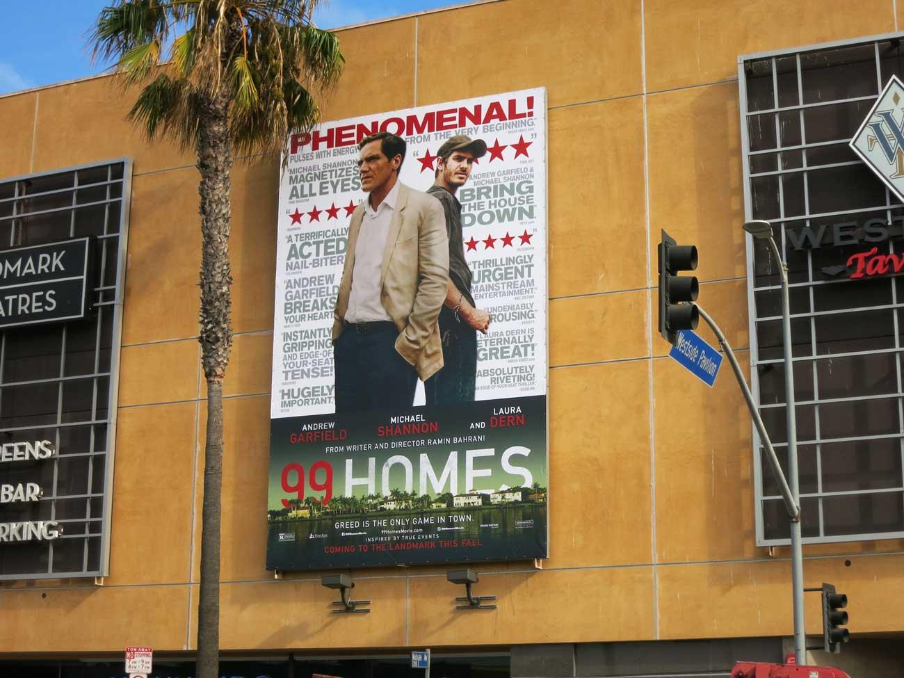 olson visual creates a super large banner for 99 homes | olson visual